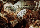 Part of the Trench Warfare triptych, Otto Dix, 1932.