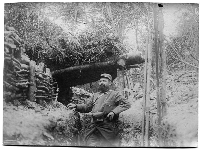 Covered trench