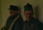 Swapping stories at Fort Mifflin, March 2013.